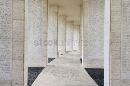 Loss : Walls bearing names of missing soldiers in fort bonifacio manila philippines