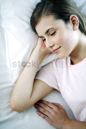 Contemplation : Woman sleeping